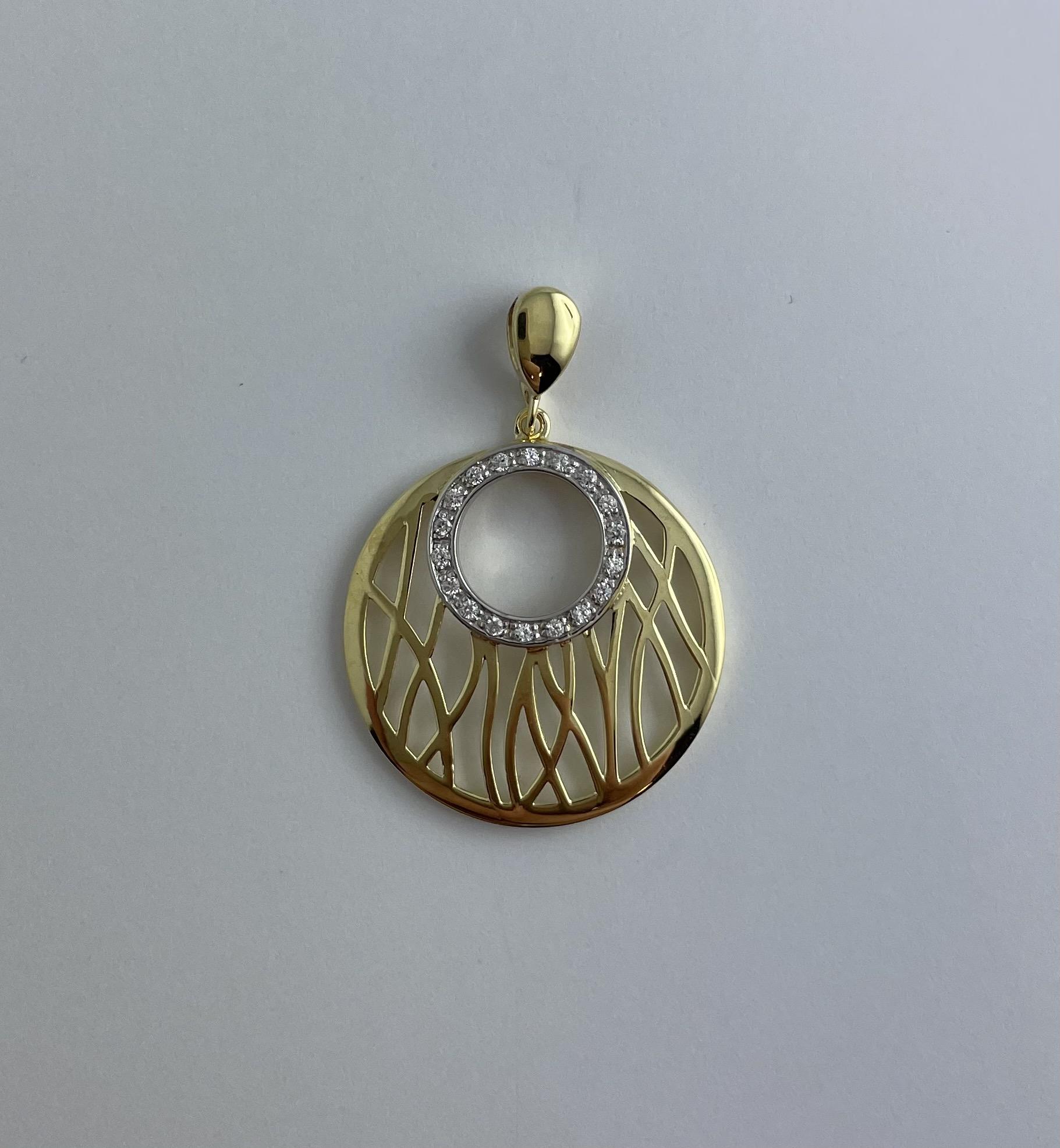Anhänger Gold 585 Zirkonia