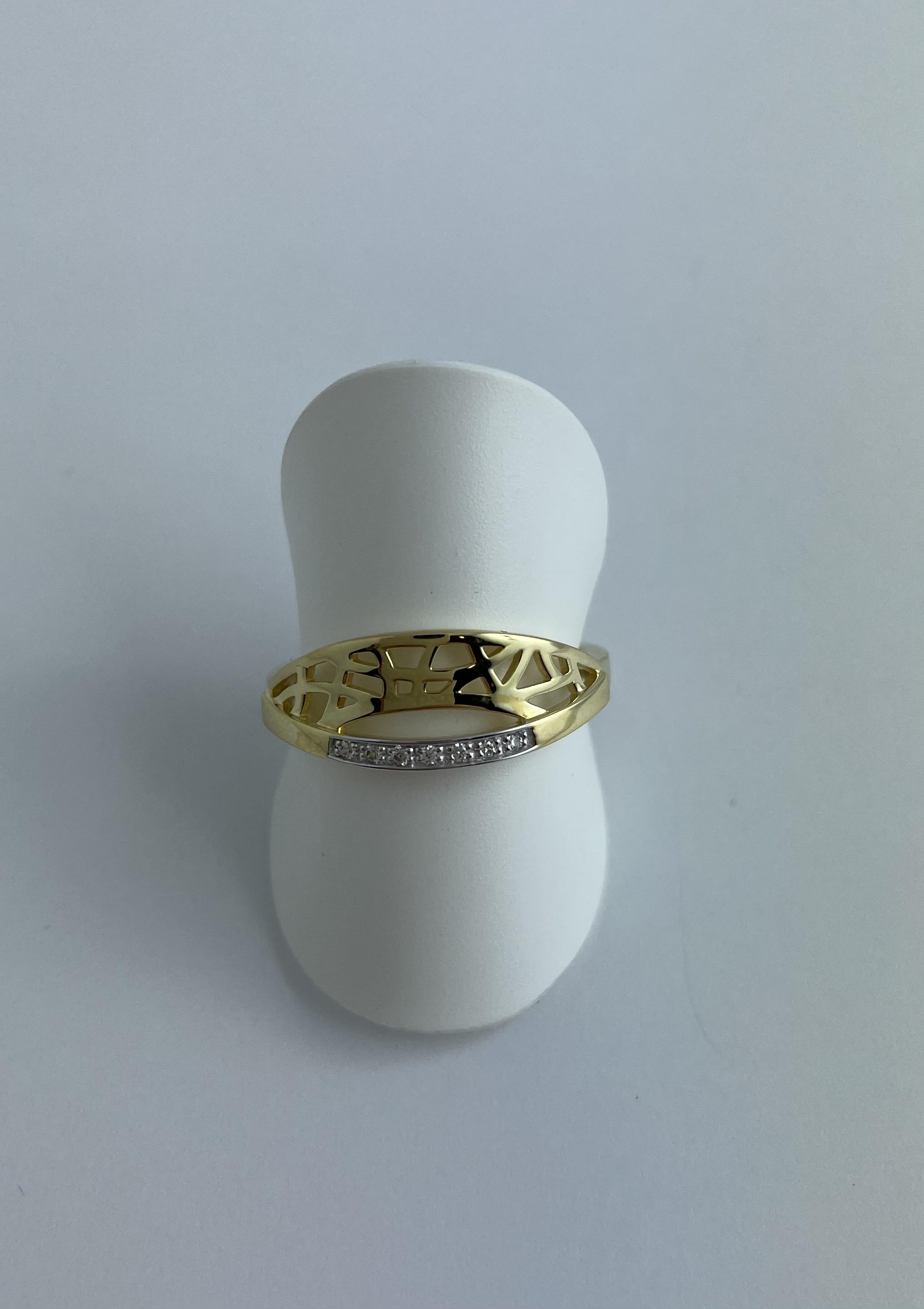 Ring Gold 585 Zirkonia